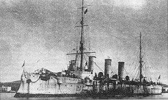 Odessa Operation (1919) - Russian Cruiser Ochakov.