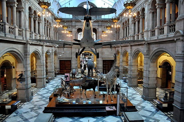 Main Hall at Kelvingrove Art Gallery & Museum