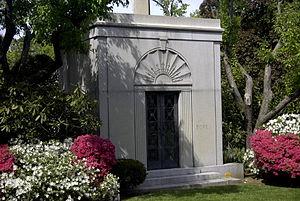 Generoso Pope - The mausoleum of Generoso Pope in Woodlawn Cemetery