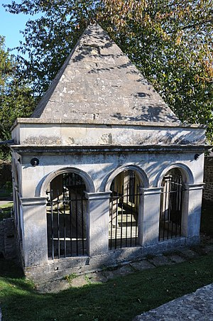 Claverton, Somerset - Mausoleum containing the tomb of Ralph Allen