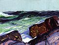 George Bellows - Iron Coast, Monhegan (1913).jpg