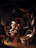Gerard Dou - The Young Mother - WGA06664.jpg