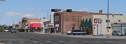 Downtown Gering: 10th Street north of M Street