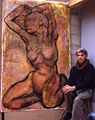 German Girl No 2 with Artist 1994.jpg