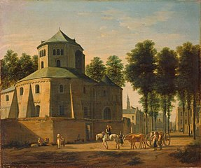 View of the Church of the St. Martin, Bonn
