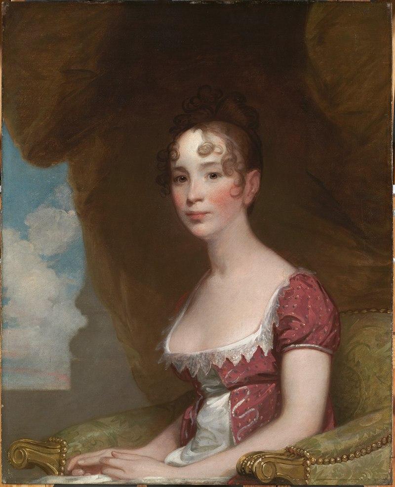 Гилберт Стюарт - Салли Отис Торндайк (миссис Израэль Торндайк - младшая) (1793-1819) - H555 - Гарвардское искусство Museums.jpg