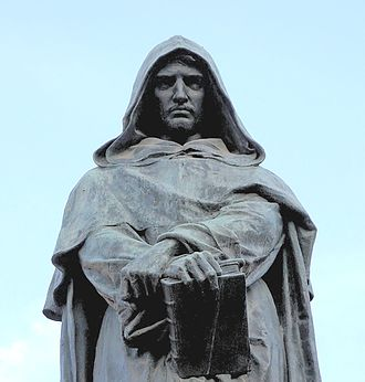 Freedom of thought - Bronze statue of Giordano Bruno, Campo de' Fiori, Rome