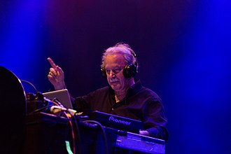 Progressive music - Giorgio Moroder performing in 2015
