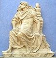 Giovanni antonio amadeo (cerchia), imperatore seduto.JPG