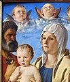 Giovanni bellini, madonna col bambino tra i ss. pietro e sebastiano, 1487 ca., 02.JPG