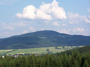 Gírová - Gírová seen from Moravian-Silesian Beskids