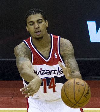 Glen Rice Jr. - Rice playing for the Washington Wizards