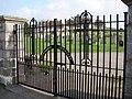 Glenjorrie Cemetery Gates, Glenluce - geograph.org.uk - 698498.jpg