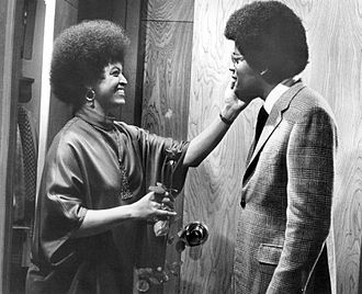 Gloria Foster - Foster and Williams in a Mod Squad episode in 1970.  Foster guest starred as a blind friend of Linc Hayes.