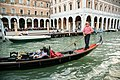 Gondolier on the Grand Canal, Venice, Italy.jpg
