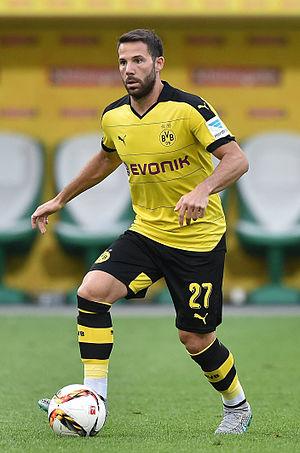 Gonzalo Castro - Castro with Borussia Dortmund in 2015