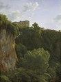 Gorge at Cività Castellana (Jean-Joseph-Xavier Bidauld) - Nationalmuseum - 23825.tif