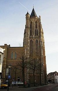 Gorinchem - rijksmonument 16634 - Grote Toren - Krijtstraat 1 20120311.jpg