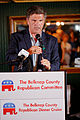 Governor of Maryland Bob Ehrlich at Belknap County Republican LINCOLN DAY FIRST-IN-THE-NATION PRESIDENTIAL SUNSET DINNER CRUISE, Weirs Beach, New Hampshire May 2015 by Michael Vadon 19.jpg
