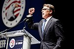 Governor of Texas Rick Perry at Citizens United Freedom Summit in Greenville South Carolina May 2015 by Michael Vadon 15.jpg