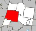 Granby Quebec location diagram.PNG