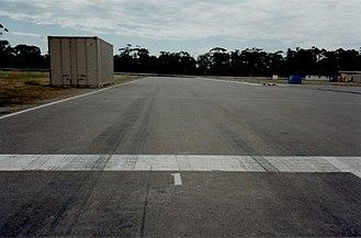 Adelaide Street Circuit - Adelaide GP circuit pole position