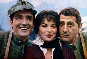 Vittorio Gassman - Gassman, Silvana Mangano and Alberto Sordi in The Great War (1959)