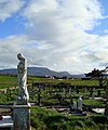 Graveyard outside Bundoran - geograph.org.uk - 1246776.jpg