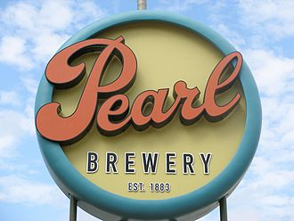 """Pearl Brewing Company - The brewery's new """"retro"""" logo"""