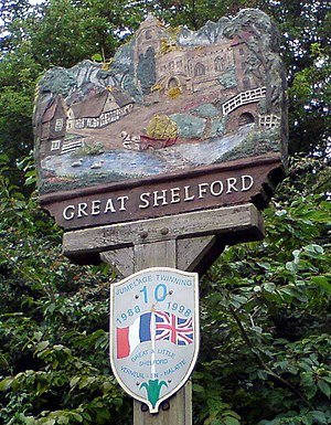 Great Shelford - Village sign