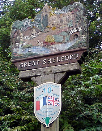 Great Shelford - Village sign