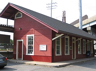 National Register of Historic Places listings in Connecticut - Cos Cob Railroad Station