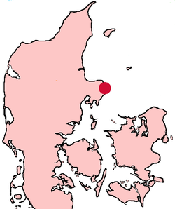 Grenå Denmark location map.png