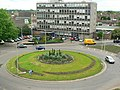 Greyfriars roundabout, from multi-storey car park, Bedford - geograph.org.uk - 1373280.jpg