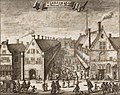 Grote en de Kleine Vleeshal Amsterdam 1693.jpg