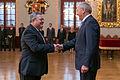 Gruzijas parlamenta priekšsēdētājs tiekas ar Latvijas Valsts prezidentu Andri Bērziņu (10688325195).jpg