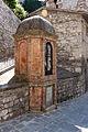 Gubbio, via di san giuliano 02 tabernacolo.JPG
