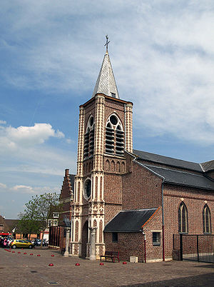 Guesnain - Image: Guesnain église 1
