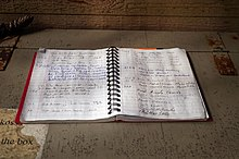 Guestbook in national park.jpg