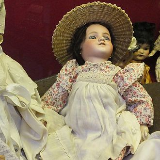 Simon & Halbig - Doll from the collection of the Guildhall Museum in Rochester, Kent