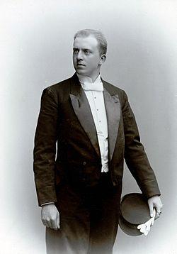 Gunnar Klintberg, elev ved det Dramatiske teater 1894-95