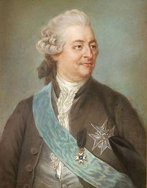 Charles De Geer - Charles De Geer. Painting by Gustaf Lundberg.