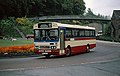 Gypsy Queen bus Bedford Duple SPT 647V in Durham, County Durham June 1980.jpg