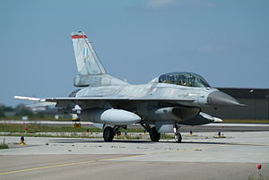 2015 Los Llanos Air Base crash - F-16D serial number 084, the aircraft that crashed