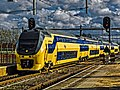 HDR picture - NS VIRM (dubbeldekker) - Lage Zwaluwen - 2 maart 2015 (19730913721).jpg