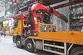 HK 上環 Sheung Wan 永樂街 Wing Lok Street 機動式起重吊車 crane vehicle July 2019 IX2 01.jpg