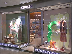 Hermes Boutique At The Lee Garden Hong Kong