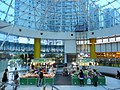 HK Tung Chung Fu Tung Estate Plaza void courtyard 06 Transparent roof Oct-2012.JPG