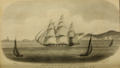 HMS Atalante passing Sambro Nova Scotia by W. E. Bailey.png