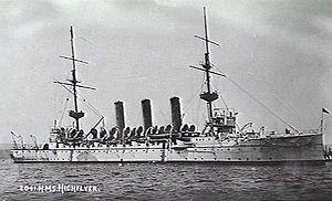 Sinking of SS Kaiser Wilhelm der Grosse - Highflyer